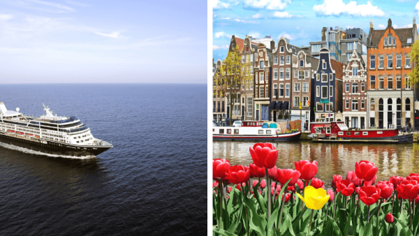Cruise - storbyer i Nord Europa