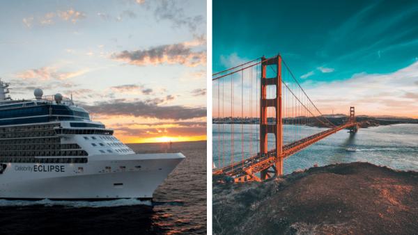 Cruise fra Vancouver til Los Angeles