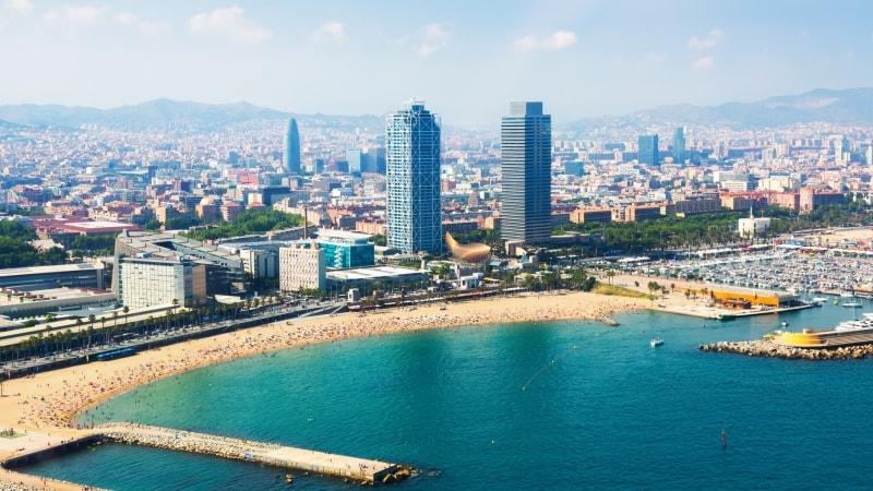 storbyferie-barcelona-barceloneta-strand