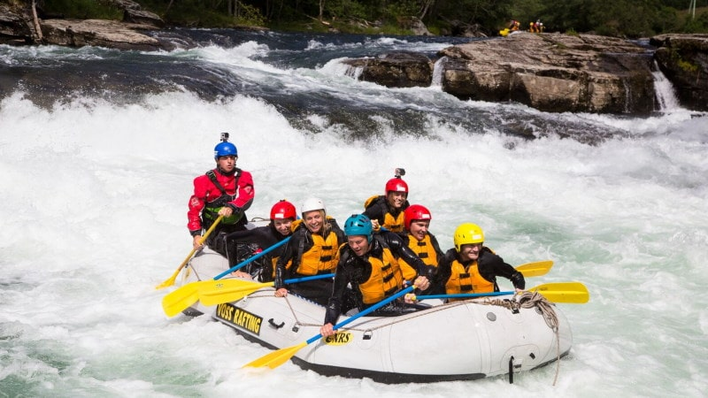 norgesferie-voss-rafting