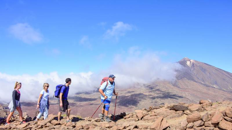 hiking-tenerife-teide-gruppe