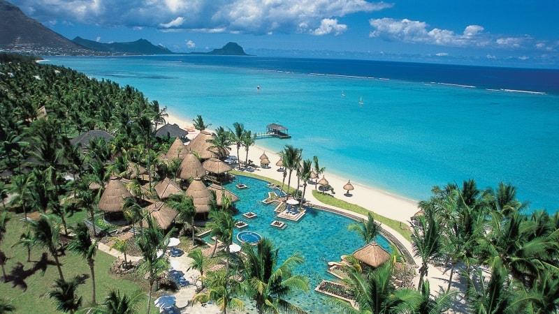 Oversiktsbilde over La Pirogue, Mauritius