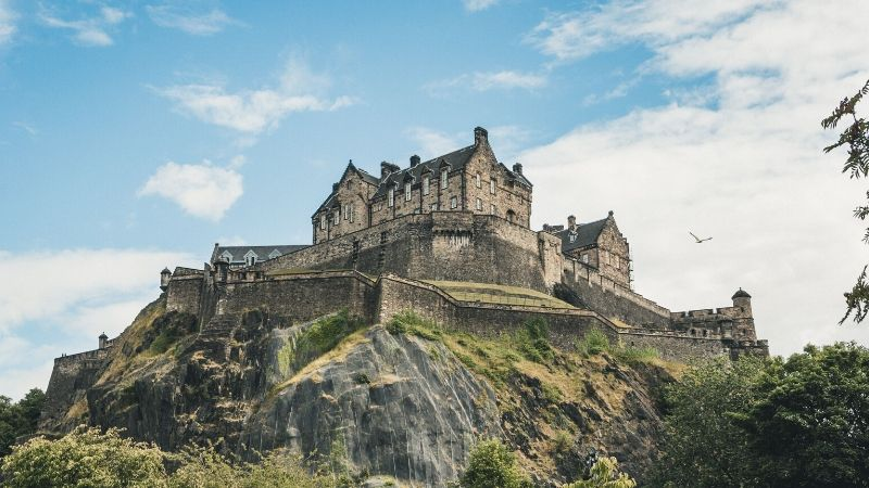 edinburgh-castle-skottland