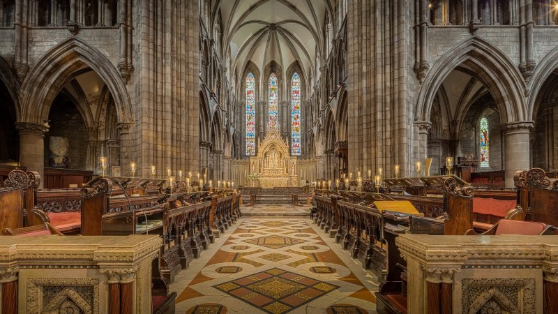 st_marys_cathedral-edinburgh-skottland