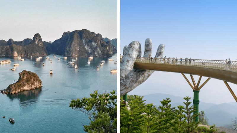 halong-bay-golden_bridge-danang
