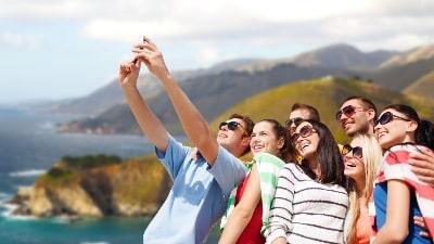 selfie-utsikt-gruppereise