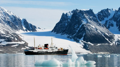 Med Hurtigruten på Svalbard