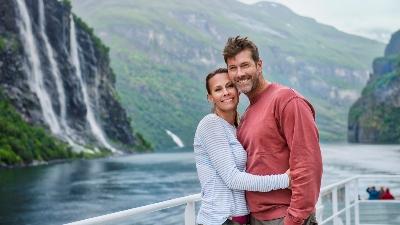 Geirangerfjorden. Foto: Agurtxane Concellon/Hurtigruten