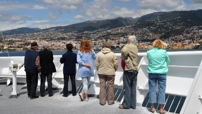 Innseiling til Lisboa. Foto: J-J-LHeureux/Hurtigruten
