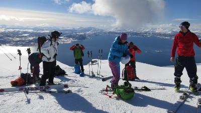 Ski and sail! Foto: Christian Knoph/Hurtigruten