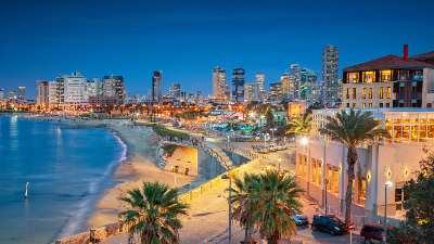 tel-aviv-strand-by-kveld