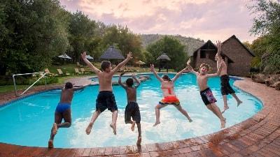 Moro med bassenget. Foto: Bakubung