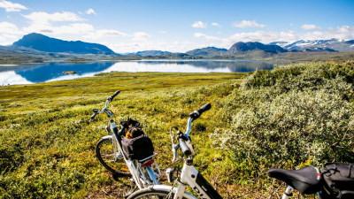 Mjølkevegen på sykkel