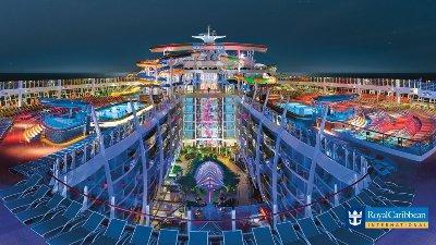 Cruise med verdens største cruiseskip