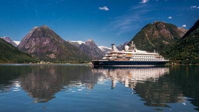 Luksuriøst cruise langs Norskekysten