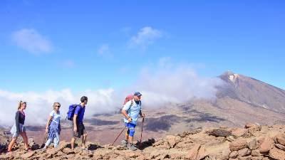Fotturer på Tenerife
