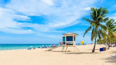 strand-livvakttarn-fort-lauderdale-florida